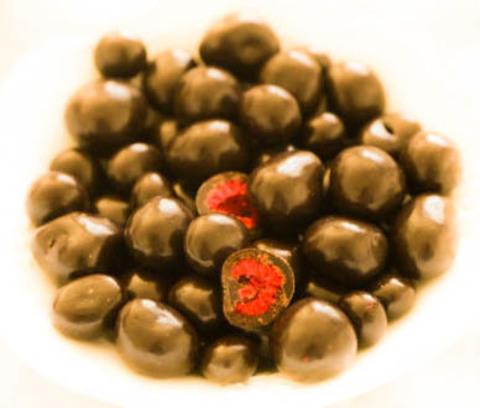 Малина в шоколаде