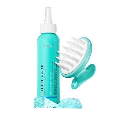 Пилинг для глубокого очищения кожи головы с массажёром, 200 мл / Scinic Fresh Care Scalp Scaler