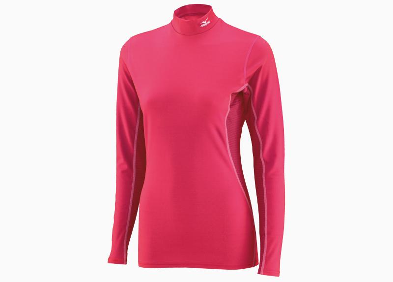 Женское термобелье рубашка Mizuno  Mid Weight High Neck (73CL152 64)