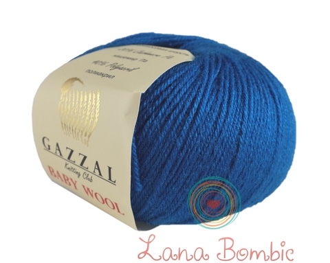 Пряжа Gazzal Baby Wool бирюза 822