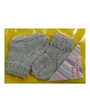 Носки - Серый. Одежда для кукол, пупсов и мягких игрушек.