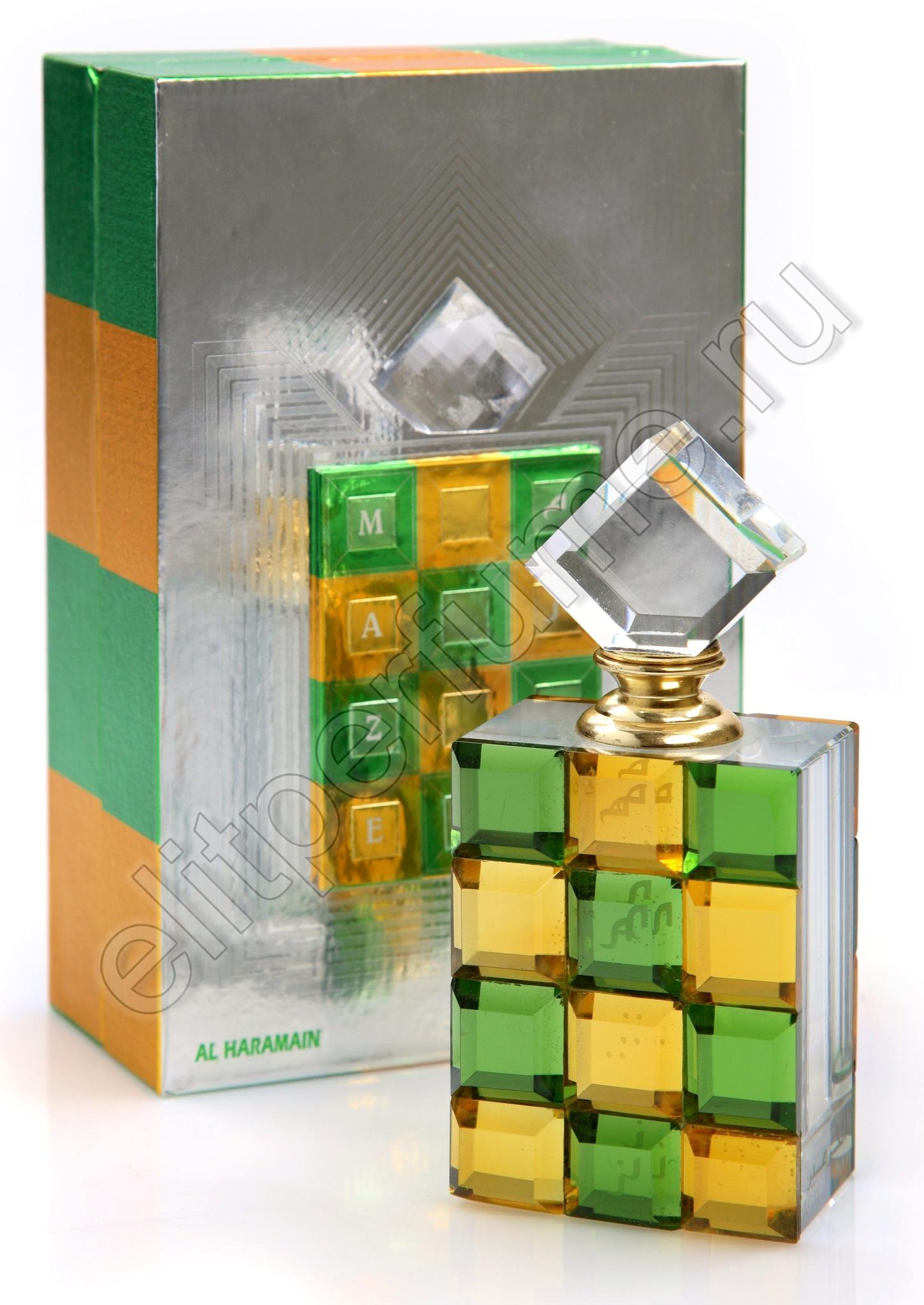 Пробники для духов Лабиринт Maze 1 мл арабские масляные духи от Аль Харамайн Al Haramin Perfumes