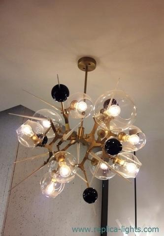 Lindsey Adelman Burst 10.01 Chandelier Replica ( gold )