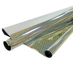Рулон пленка Голография Серебро, 190 г, 70 см * 7,1 м, 40 мкр