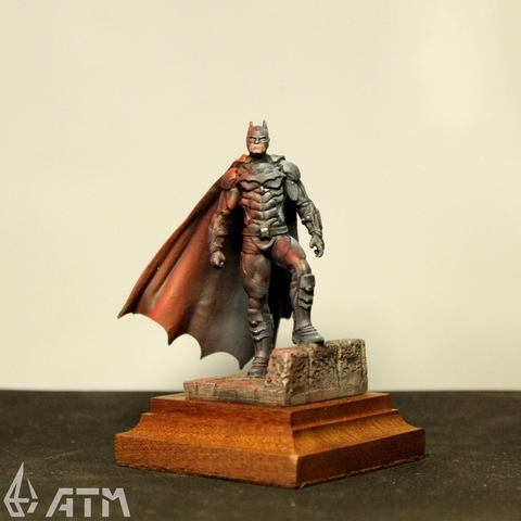 ATM Batman top painted