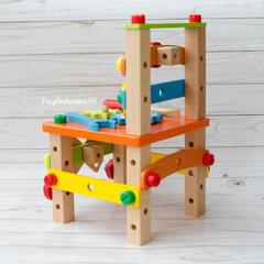 Стул конструктор деревянный