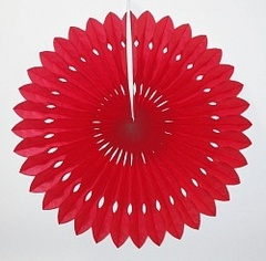 Бумажный диск Красный (14