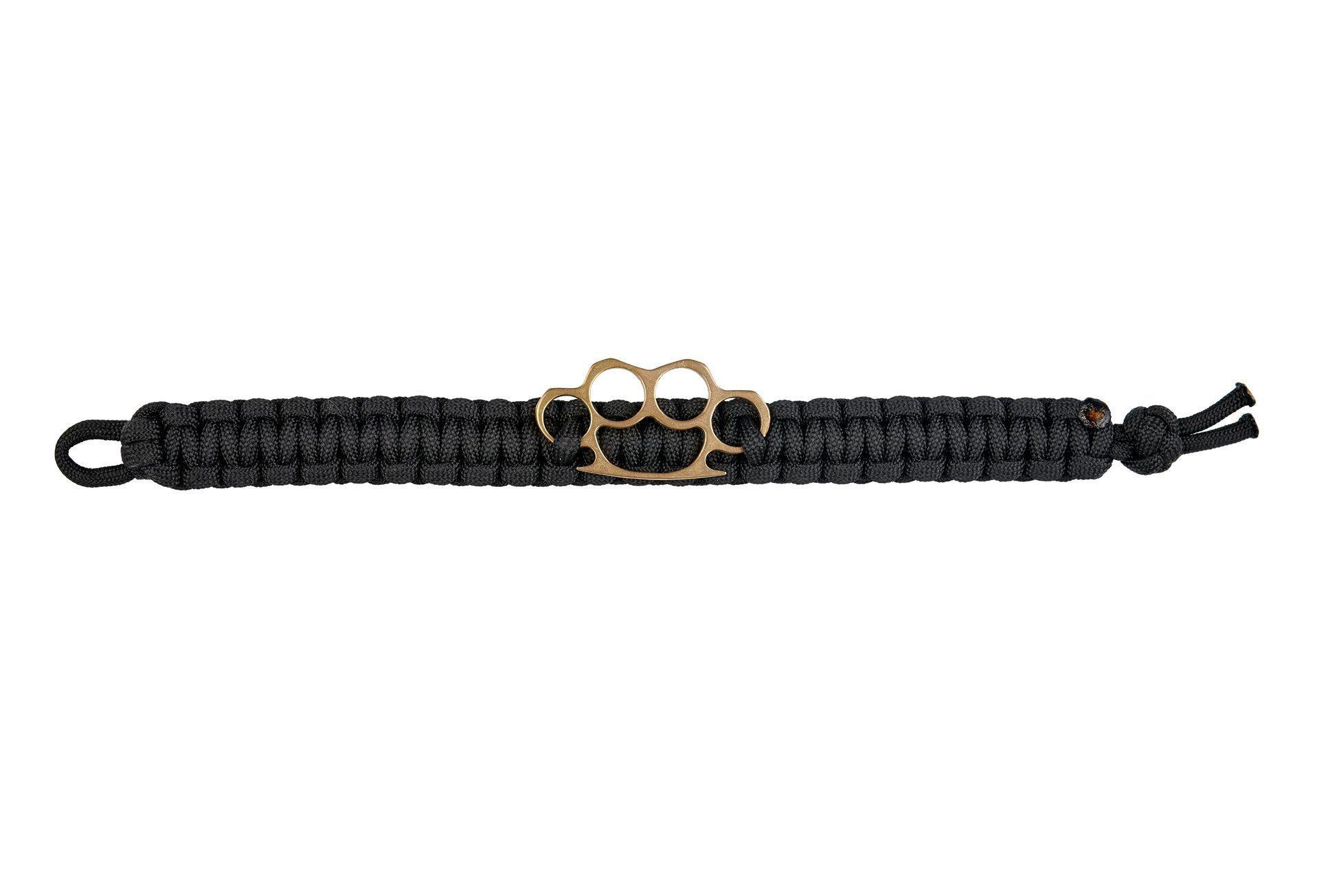 Paracord bracelet knuckle