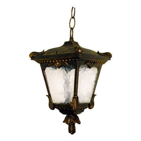 Светильник садово-парковый, 60W 230V E27 черное золото, 8003S (Feron)