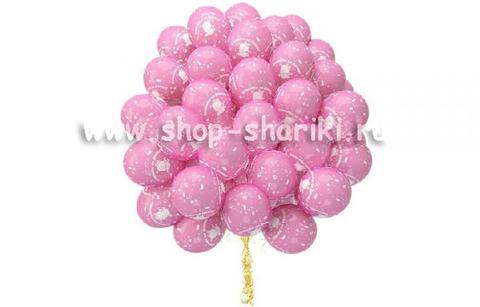 шарики спасибо за дочку www.shop-shariki.ru