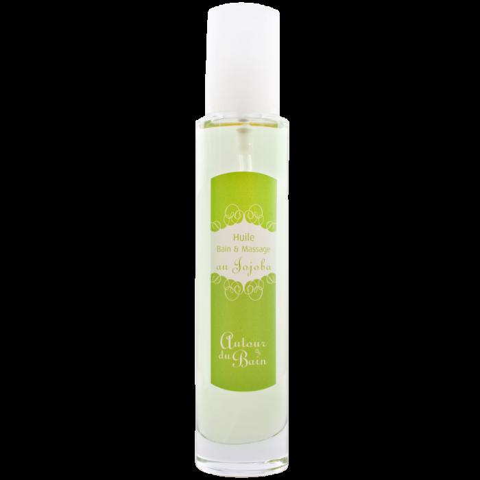 Масло для ванны и массажа с маслом жожоба  100 мл (Гели и масла для ванны и душа) (Autour Du Bain)