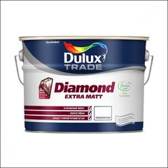 Краска матовая Dulux Trade Diamond Extra Matt BW (Белый)