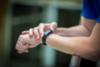 Фитнес-часы Garmin Vivosmart HR черные стандартный размер