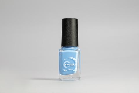 Лак для стемпинга Swanky Stamping S25, небесно-голубой 6 мл.