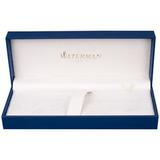 Перьевая ручка Waterman Charleston Black GT перо золото 18Ct F (S0700980)