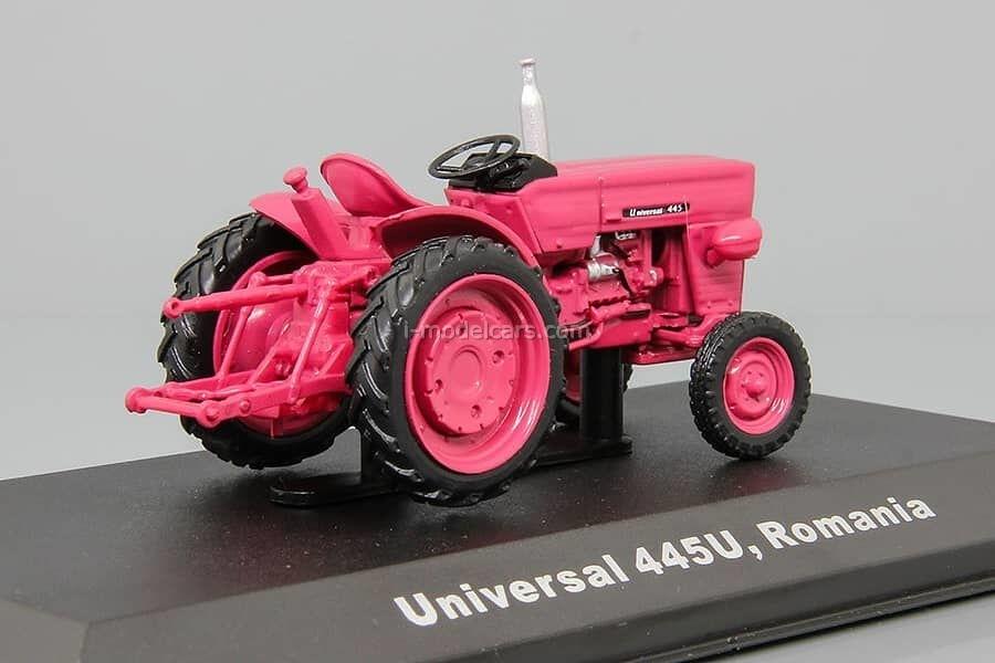 Tractor Universal 445V Romania 1:43 Hachette #77