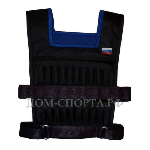 Жилет-утяжелитель «Мастер» 10 кг размер 48-52