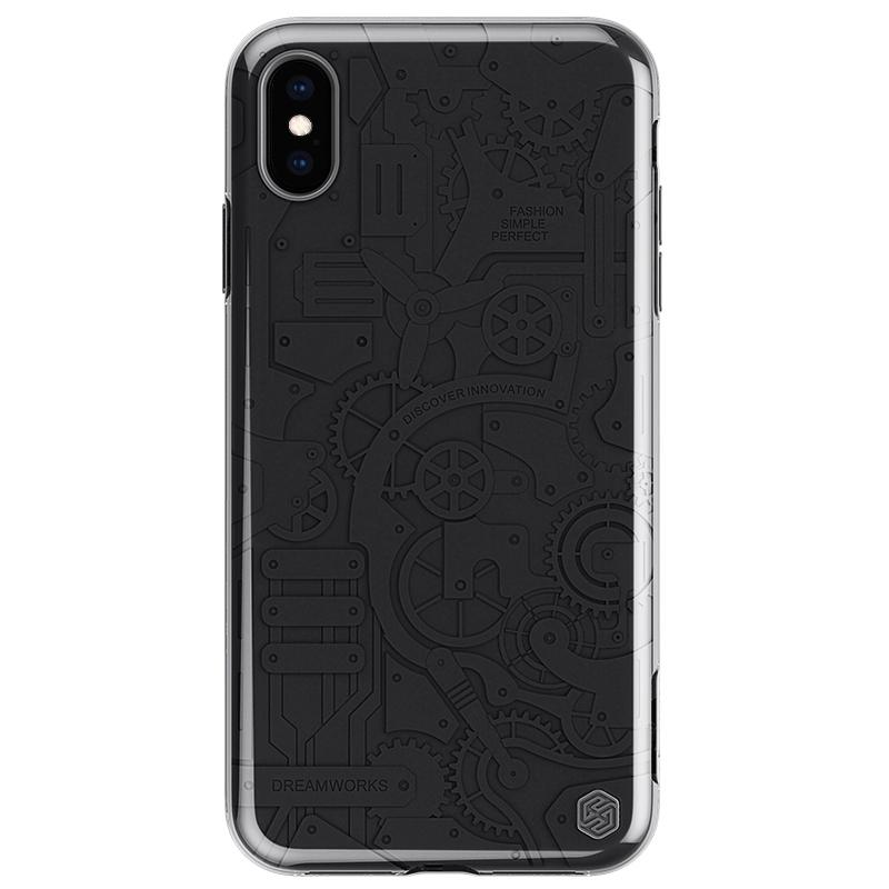 Чехлы Чехол Nillkin Machinery Case для Apple iPhone XS Max 黑_02.jpg