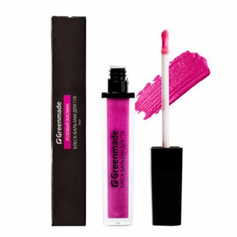 Блеск-бальзам для губ Розовый жасмин, 5 мл (Greenmade)