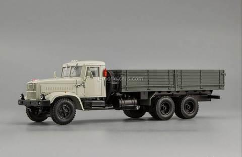 KRAZ-257B1 1987-1994 gray 1:43 Nash Avtoprom