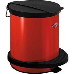 Ведро для мусора 5л Wesco Pedal bin 101 красное