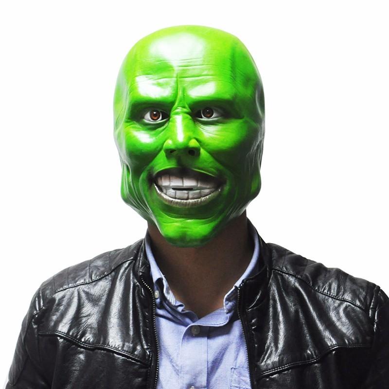 Маска латексная маска Джим Керри — The Mask