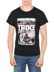 11113-1 футболка мужская, черная