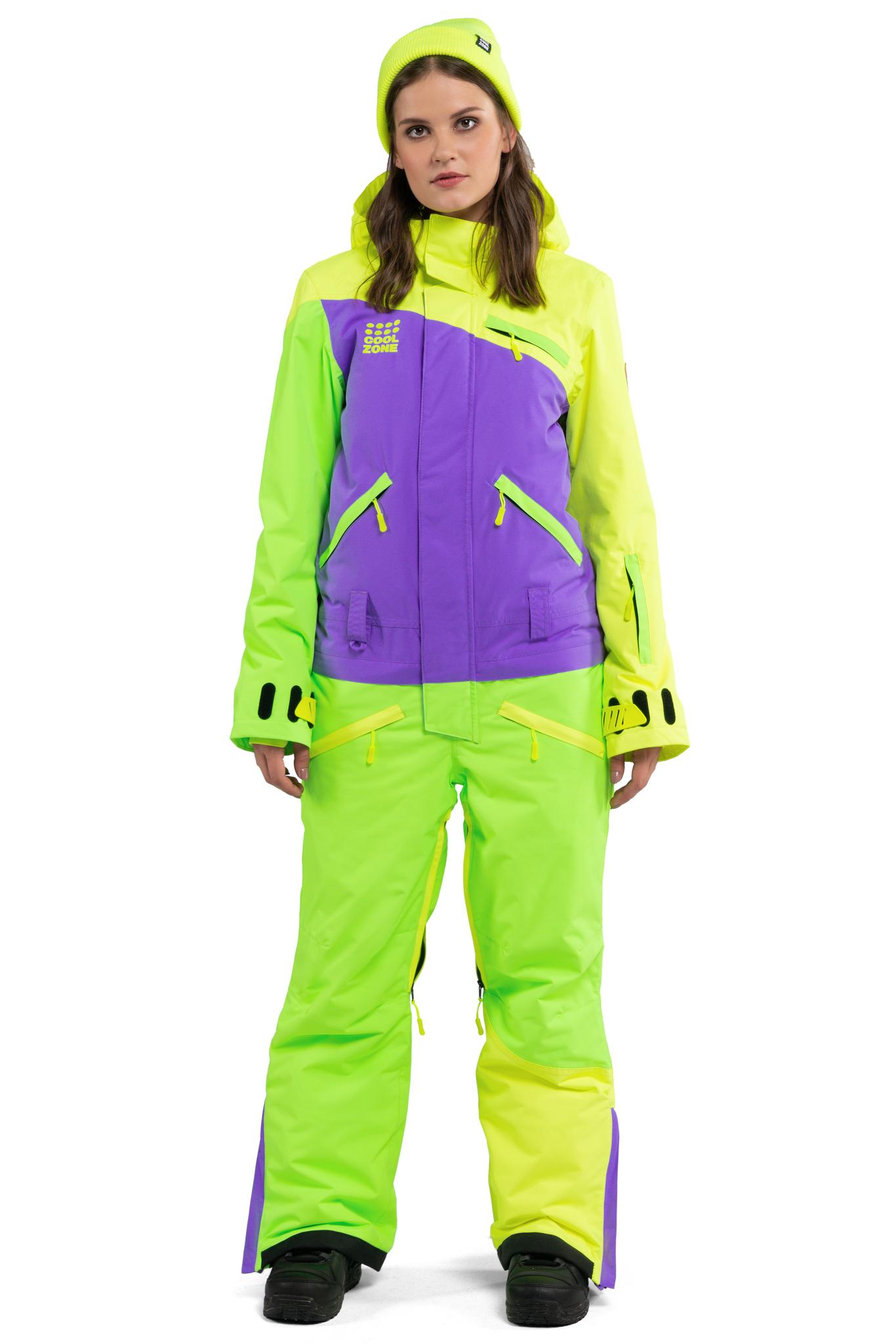 Женский комбинезон для сноуборда Cool Zone Mix KN1101 27 30 купить ... 58878fc8169