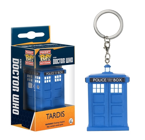 Брелок Funko Pocket POP! Keychain: Doctor Who: Tardis 8689-PDQ