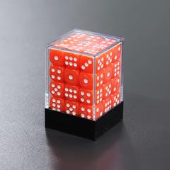 Набор шестигранных кубиков оранжевый (36 штук)