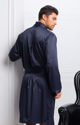 Мужской шелковый халат 60165 Laete Турция