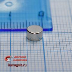 Неодимовый магнит диск 5х3 мм