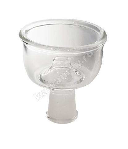 Стеклянная чашка для кальяна Фабула