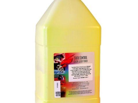 Тонер Static Control для Kyocera FS-C8020 Yellow (желтый) 1 кг/фл