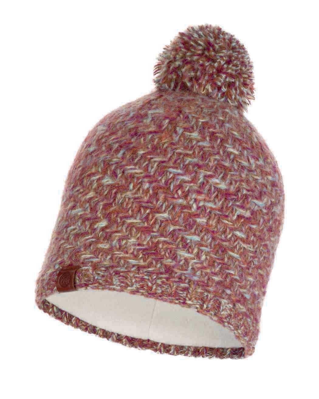Шапки с помпоном Вязаная шапка с флисовой подкладкой Buff Hat Knitted Polar Agna Multi 117849.555.10.00.jpg