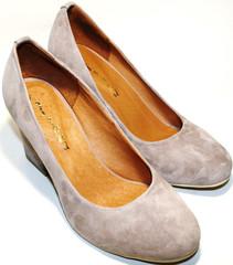 Туфли на каблуке Ilona велюр