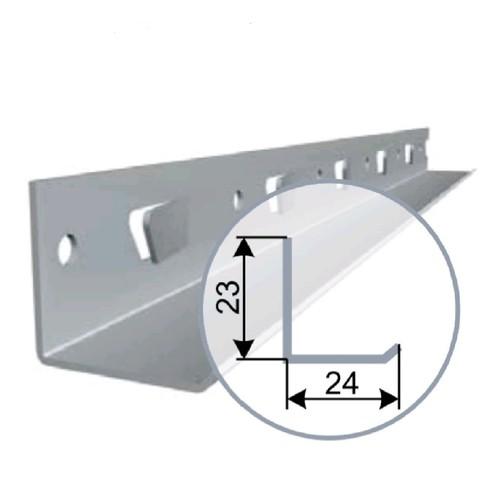 Уголок алюминиевый периметральный 23х24 CESAL