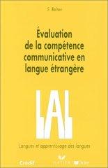 Evaluation de la competence communicative en la...