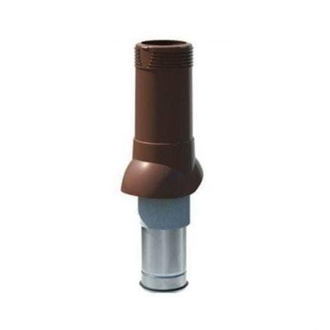 Вентиляционный выход Технониколь d 125 160 коричневый
