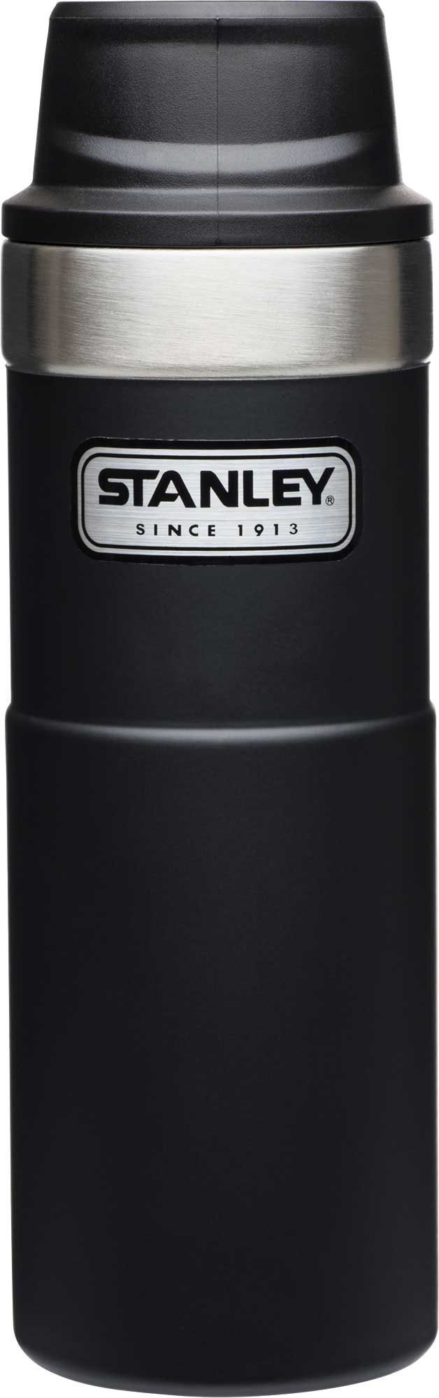 Термокружка Stanley Classic 0,47 L one hand 2.0 черная