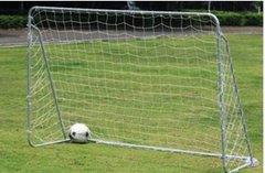 Ворота футбольные, детские с сетками, размер 1,88м х1,22м х0,61м (комплект 2шт.).