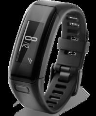 Фитнес-часы Garmin Vivosmart HR черные большой размер