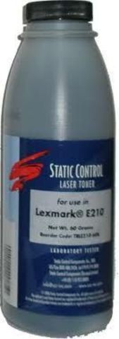 Тонер Static Control для Lexmark E260/360/460 (SC) 3500 стр. 130 г/фл.