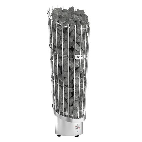 Серия Phoenix: Электрическая печь SAWO Phoenix PNX3-90Ni2-P (9 кВт, нержавейка, выносной пульт, напольная, встр. блок мощности)