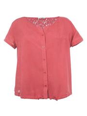 4144 блузка женская, розовая