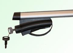 Багажник V-STAR на широкий рейлинг металл с замком (140cm.) (B4780)