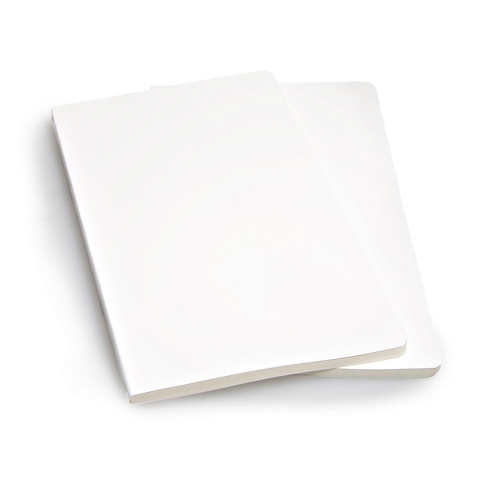 Набор 2 блокнота Moleskine Volant Large, цвет белый, без разлиновки