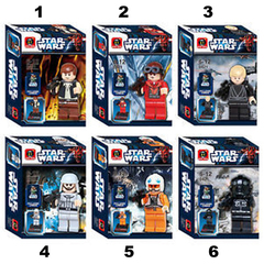 Minifigures Star Wars Blocks Building Series 03
