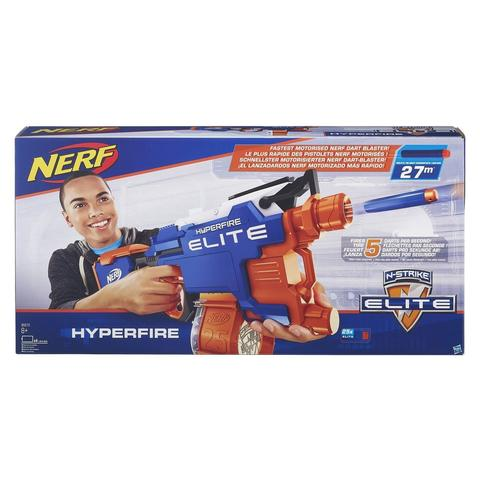 Hasbro: Бластер Nerf Элит Хайперфайр — N-Strike Elite HyperFire B5573EU4 — Нерф Нёрф Хасбро