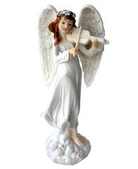 Ангел. Статуэтка керамическая.